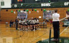 Girls Volleyball Celebrates Seniors, Regional Championship
