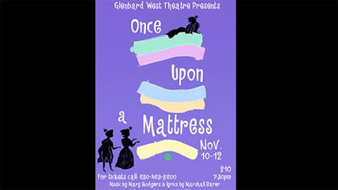 Glenbard West Theatre presents Once Upon a Mattress for fall 2016 musical