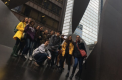 AP Art History Students Learn about Chicago Sculptures