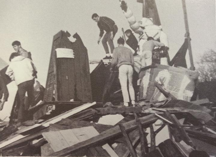 Homecoming+bonfire+from+1965.++Picture+courtesy+of+Pinnacle%2C+Glenbard+West%27s+yearbook.