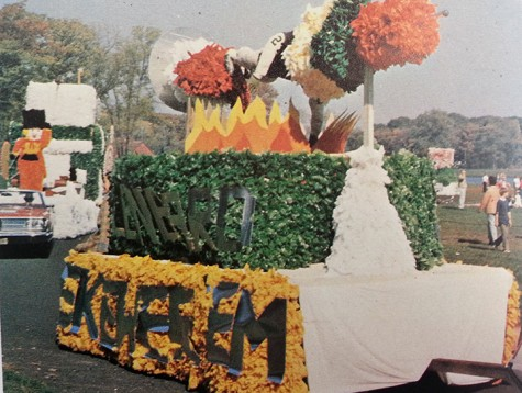 Another elaborate float from 1972. Picture courtesy of Pinnacle, Glenbard West's yearbook.