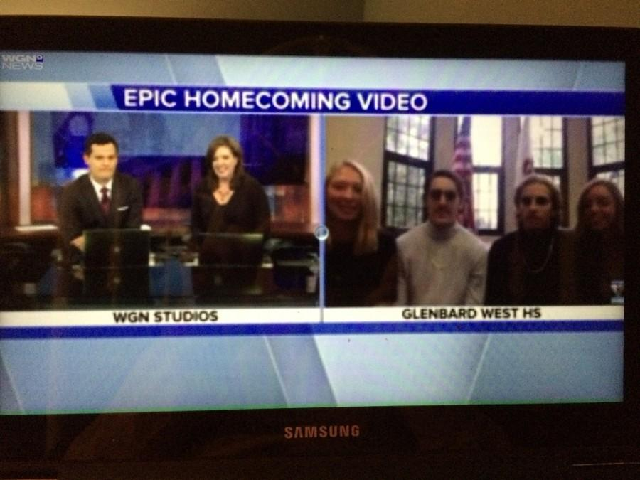 The couples are interviewed on WGN morning news