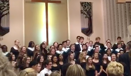 The Fall Choir Concert rocked the First United Methodist Church