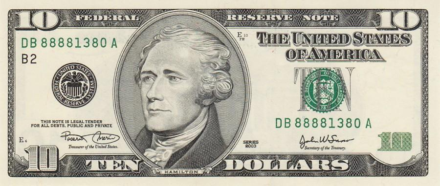 Who will be on the next $10?