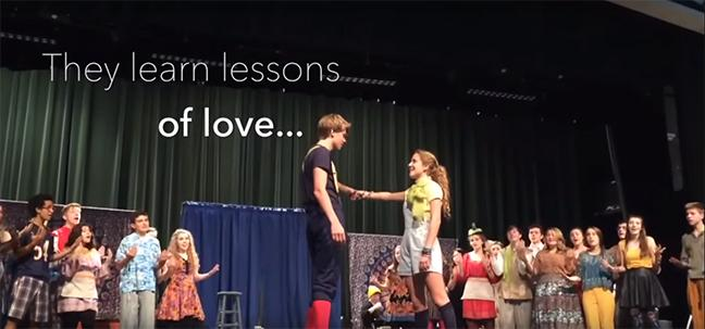 Glenbard+West%27s+Fall+Musical%2C+%27Godspell%2C%27+Opens+This+Week