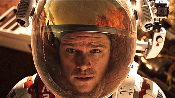 Sci-fi thriller 'The Martian' thrills audiences