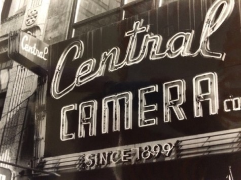 Jonathon Guse uses the stark contrasts between black and white to emphasize the unique quality of a Chicago store sign