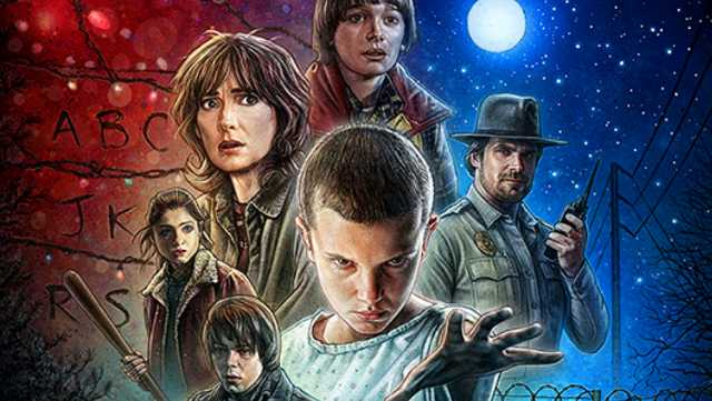 The Success of New Netflix Series Stranger Things
