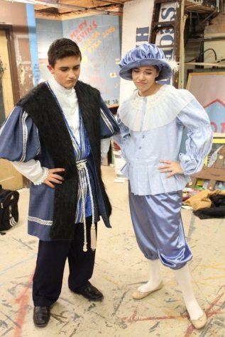 Prince Dauntless and Princess Larkin in disguise ( Brennan Dougherty and Celia O'Brian)
