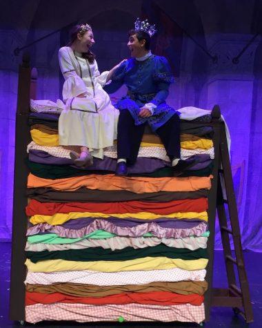 Princess Winnifred and Prince Dauntless upon 20 mattresses( Gabi Winter, Brennan Dougherty)
