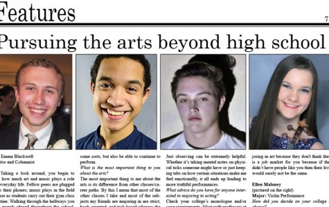 Pursuing the Arts Beyond High School