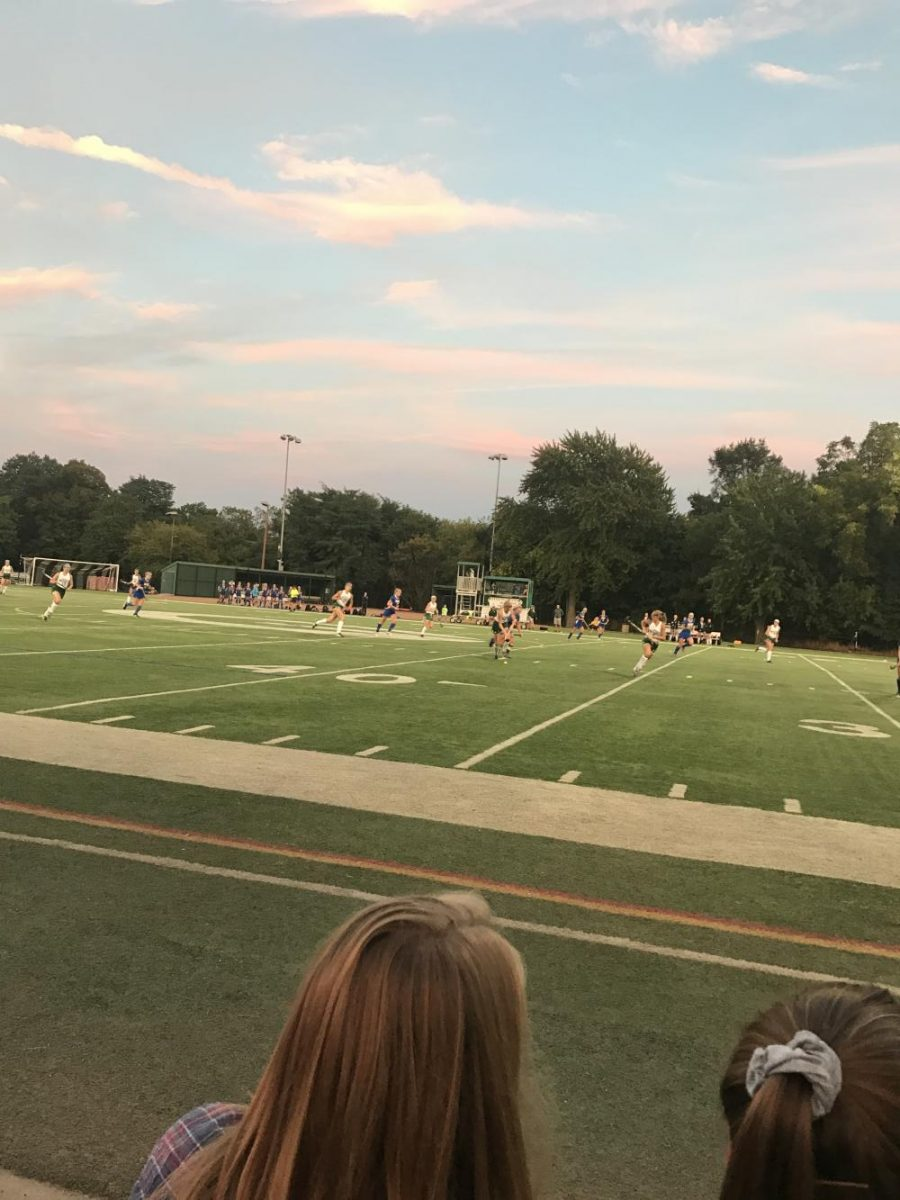 GBW Field Hockey playing Lake Forest on Memorial Field
