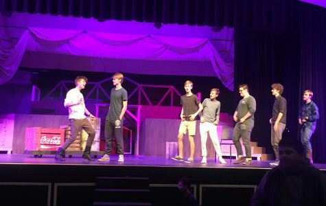 'Footloose' the Musical Prepares for Opening Night During Tech Week