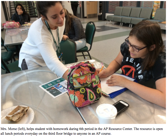 Three resource centers, eager to guide, help students