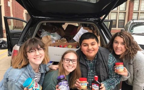 Glenbard West Student Council's Food Pantry Drive: PB&J Style