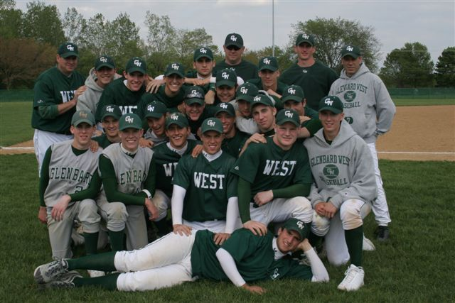Mr. Fornaciari (left back row) coached the 2005 baseball team -  pictured here after winning the Regional Championship