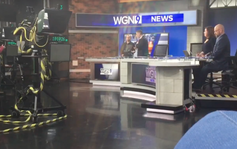 Behind the Scenes at a News Station
