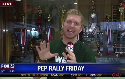 "Behind the Scenes of Fox 32 Chicago's ""Pep Rally Friday"" News Coverage"