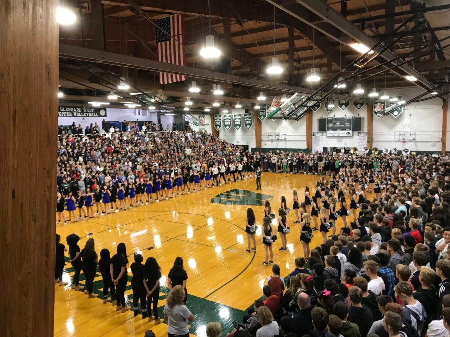 Fox News 32 gets a glimpse of school spirit at West's Pep Rally on Friday, October 5, 2018.