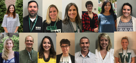 Welcome the New Staff Members at Glenbard West: