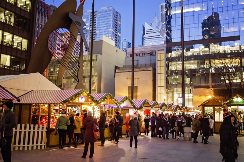 Photo courtesy of the Christkindlmarket Chicago blog.