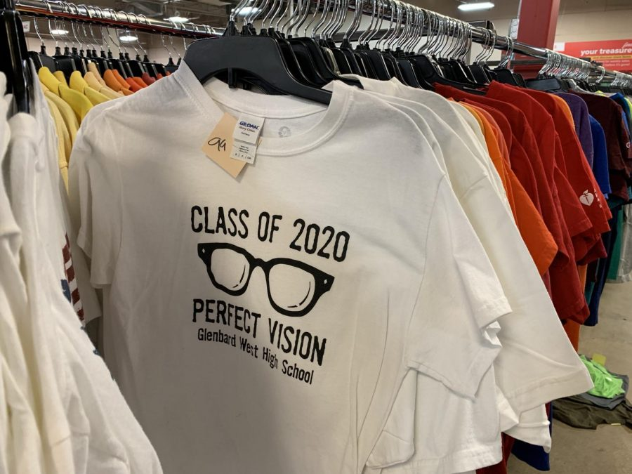 A+Glenbard+West+%22Class+of+2020%22+T-shirt+can+be+found+at+a+Glendale+Heights+Salvation+Army.++