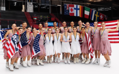 West Sophomore and Her Synchronized Skating Team's Impressive Season